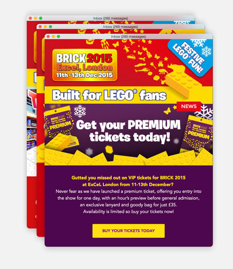 Brick - Emailer Marketing